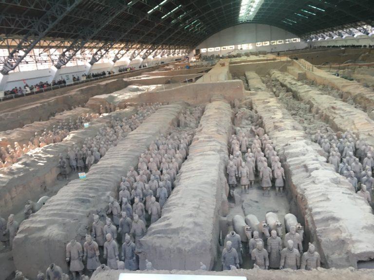 L'armée en terre cuite à Xian